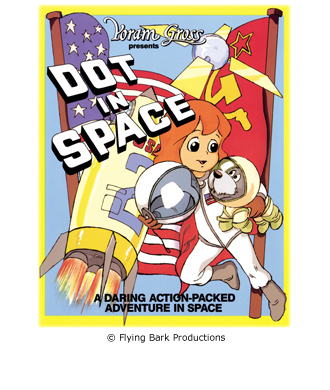 Film Poster for Dot in Space.